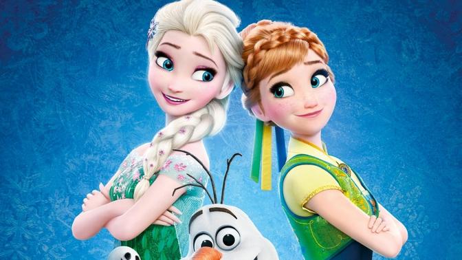 Anna I Elza z Krainy Lodu ubrania dla dzieci