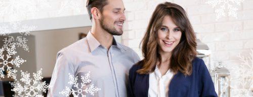 Mężczyzna i kobieta w ubraniach marki Textil Market