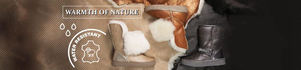 niezwykle ciepłe buty marki Bartek