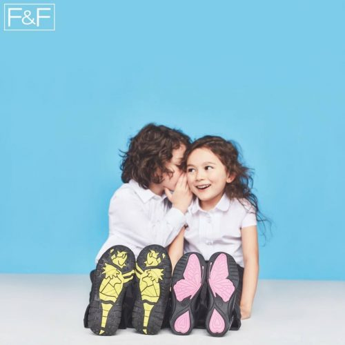 Dzieci w letniej kolekcji ubrań F&F
