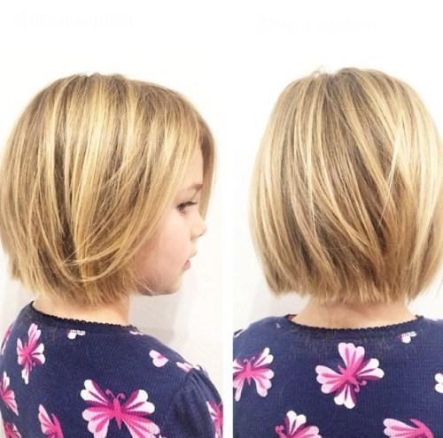Modne fryzury dla dziewczynki