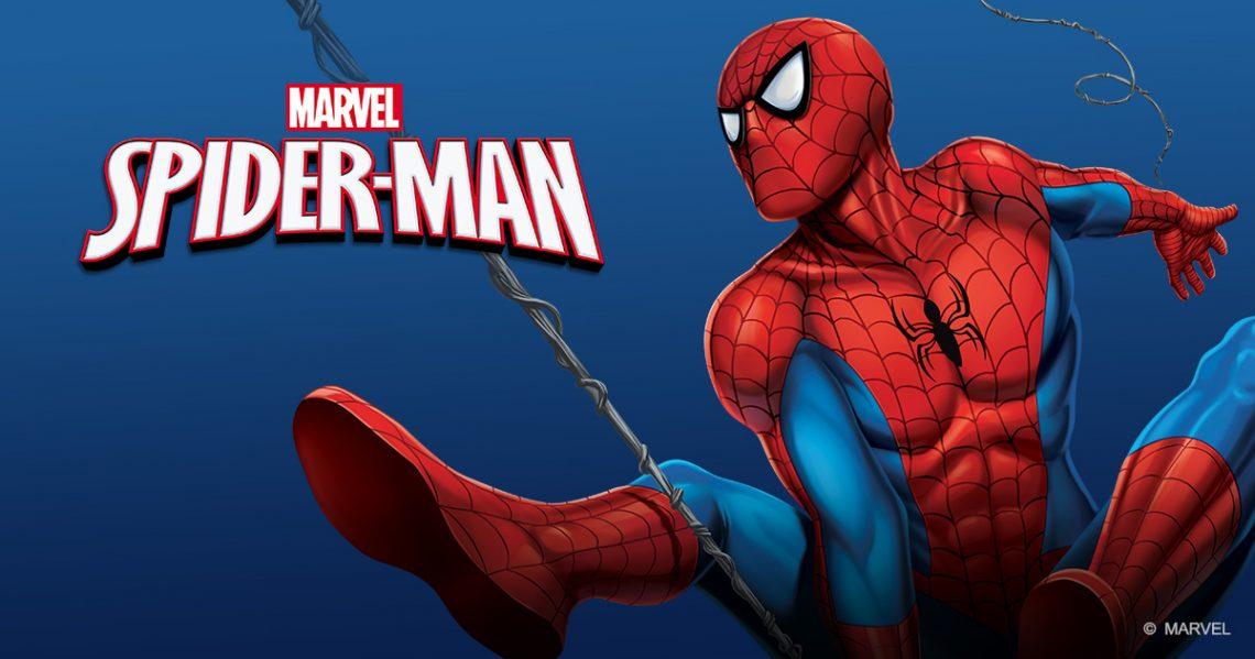 Spiderman bohater na ubraniach dziecięcych