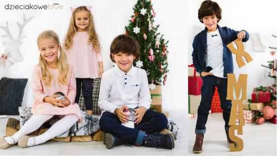 Ubrania na święta dla dzieci