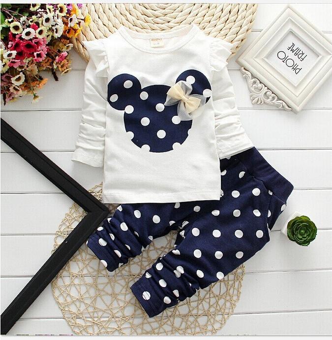 Zestawy ubrań dla dziewczynek z Aliexpress