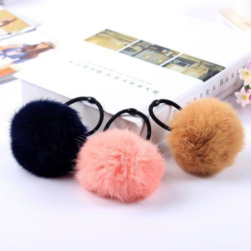 Gumki do włosów dla dziewczynki, gumki, które nie plączą włosów