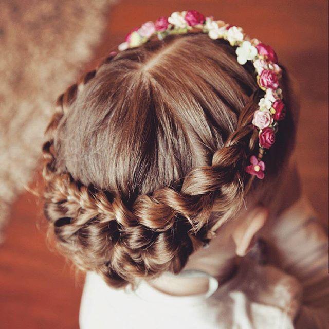 Eleganckie Fryzury Dla Dziewczynki Dzieciakowelovepl
