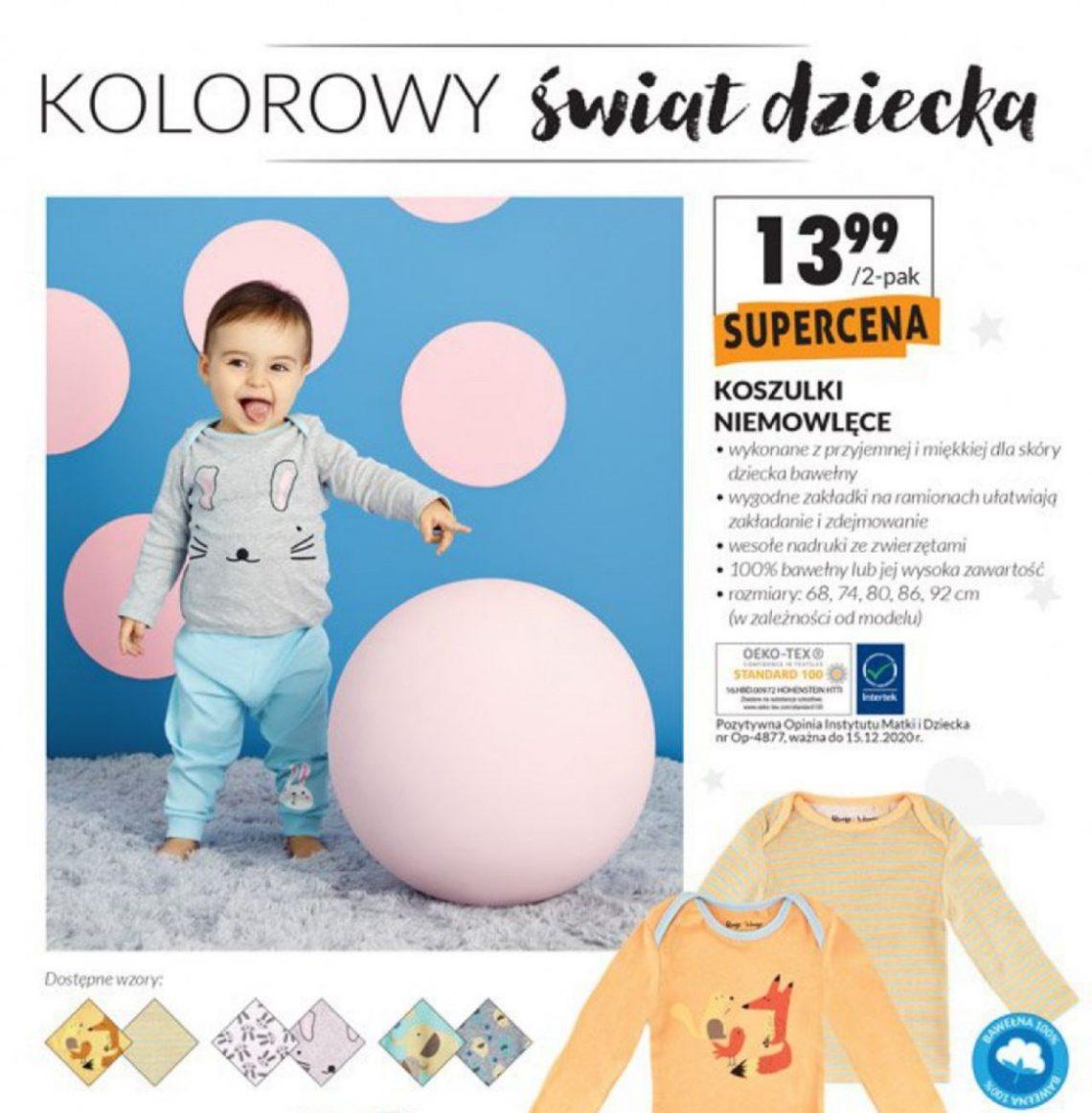 Nowa gazetka Biedronka, kolekcja dla dzieci