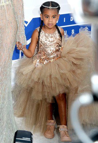 Blue Ivy Carter styl małej celebrytki
