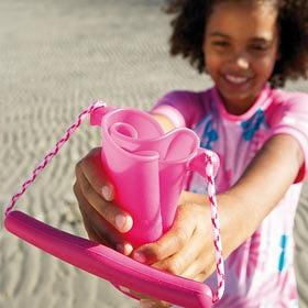 silikonowe wiaderko do piasku scrunch