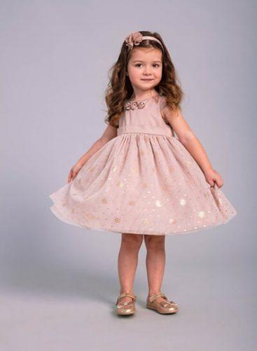 ab9d7ac3ce Rozkloszowana sukienka z podwyższoną talią to idealna propozycja dla małej  dziewczynki. Sukienka pochodzi z kolekcji Young Ladies Collection –  wyróżniającej ...