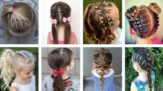 Ogromny Elegancka fryzura dla dziewczynki | dzieciakowelove.pl QY16