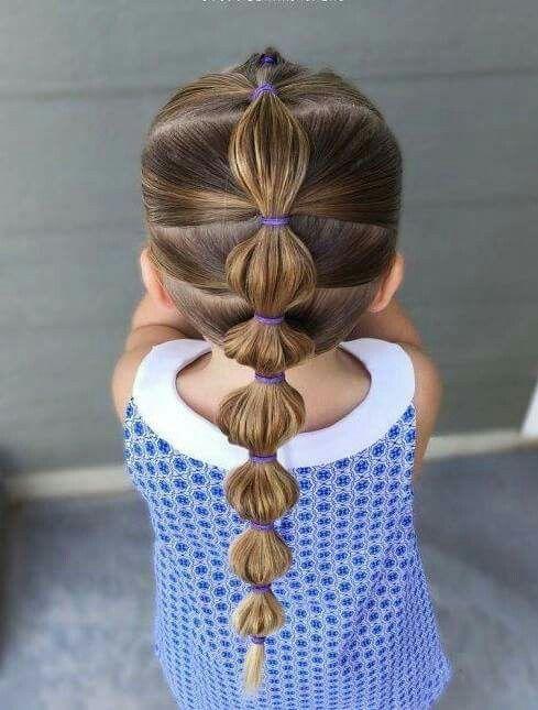 Elegancka Fryzura Dla Dziewczynki Dzieciakowelovepl