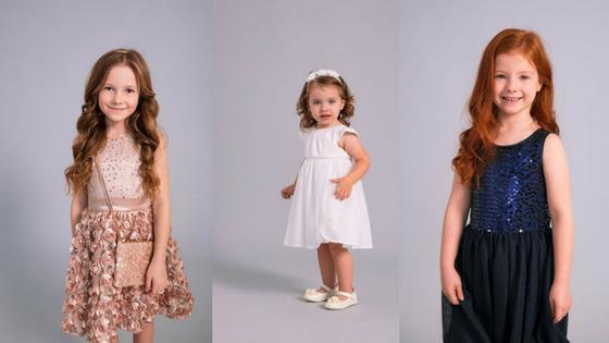 Elegancka sukienka dla dziewczynki SMYK