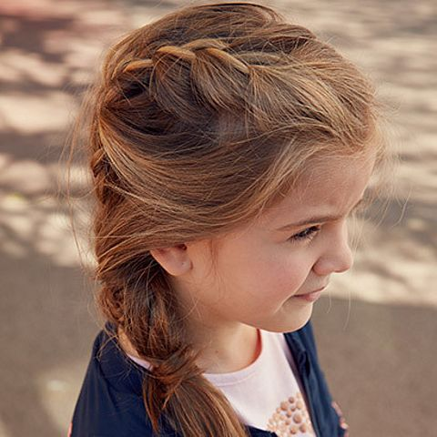 Fryzura Dla Dziewczynki Do Szkoły Dzieciakowelovepl