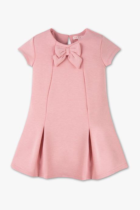 Różowa sukienka dla dziewczynki C&A