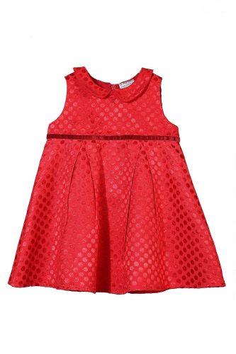 czerwona sukienka elegancka dziewczynka 5.10.15