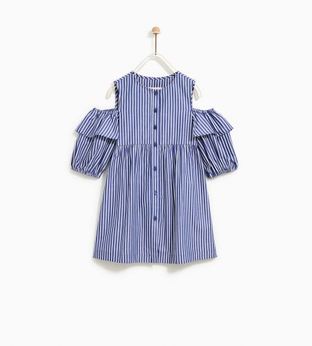 Sukienka niebieska ZARA