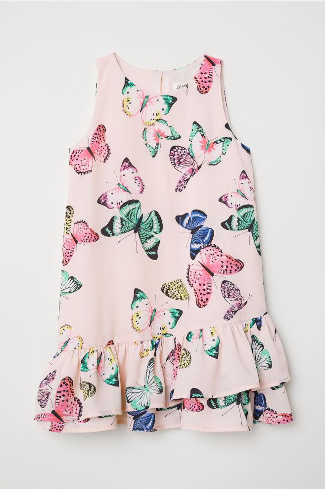 Sukienka w motyle marki H&M