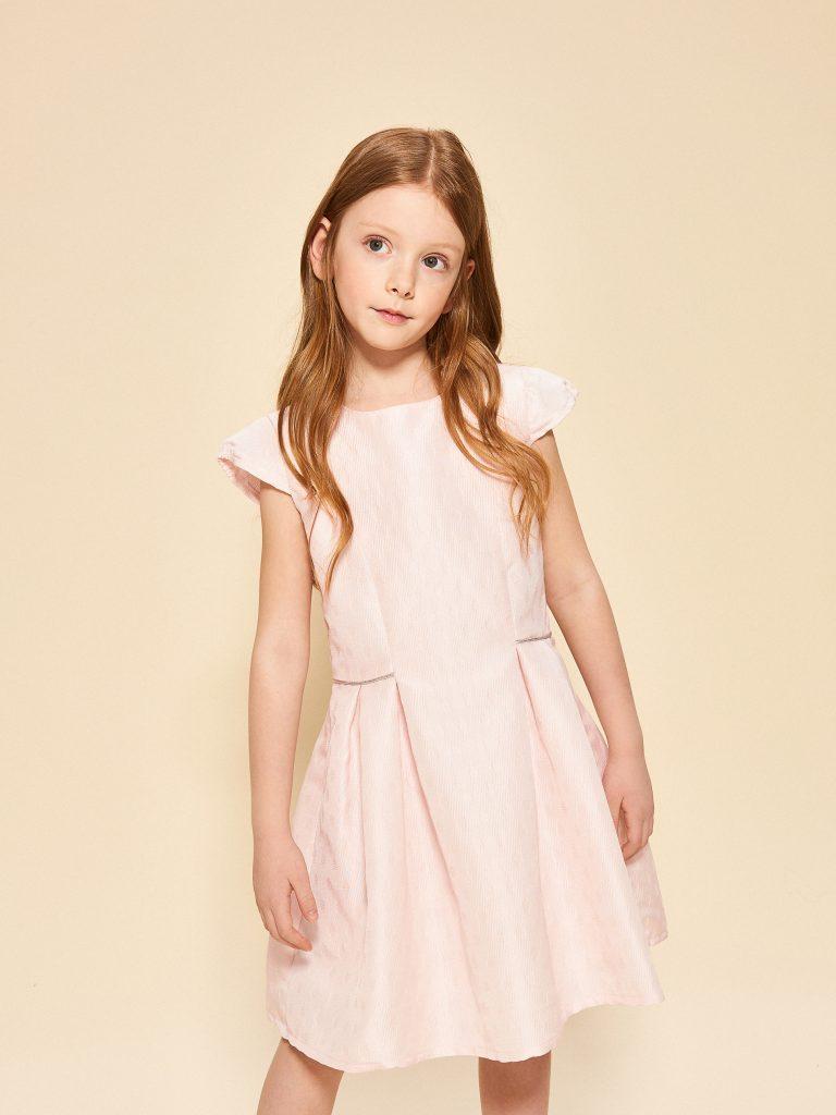 Różowa sukienka dla dziewczynki Reserved
