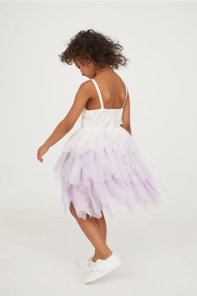 Tiulowa sukienka H&M