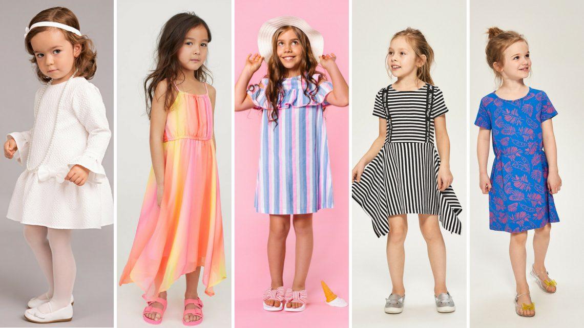 Kolor ma znaczenie! Przegląd sukienek dla dziewczynek