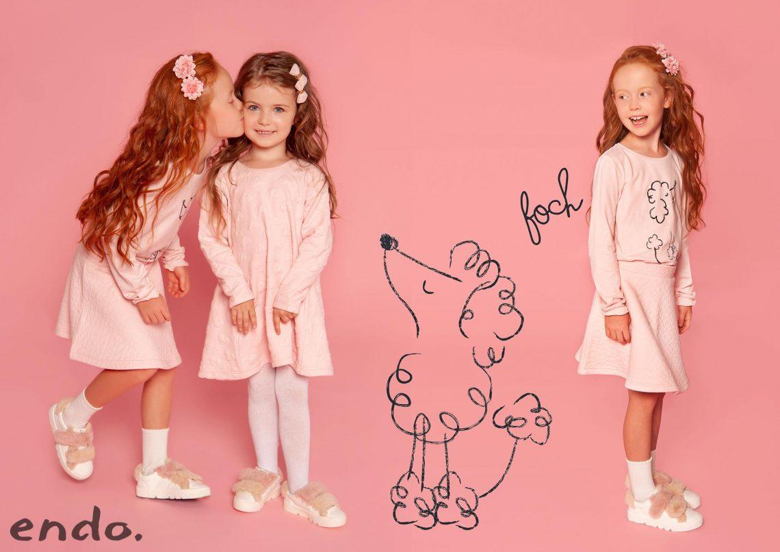 Zimowe sukienki dla dziewczynki
