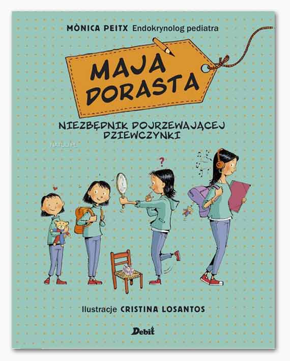 maja dorasta książka o dojrzewaniu