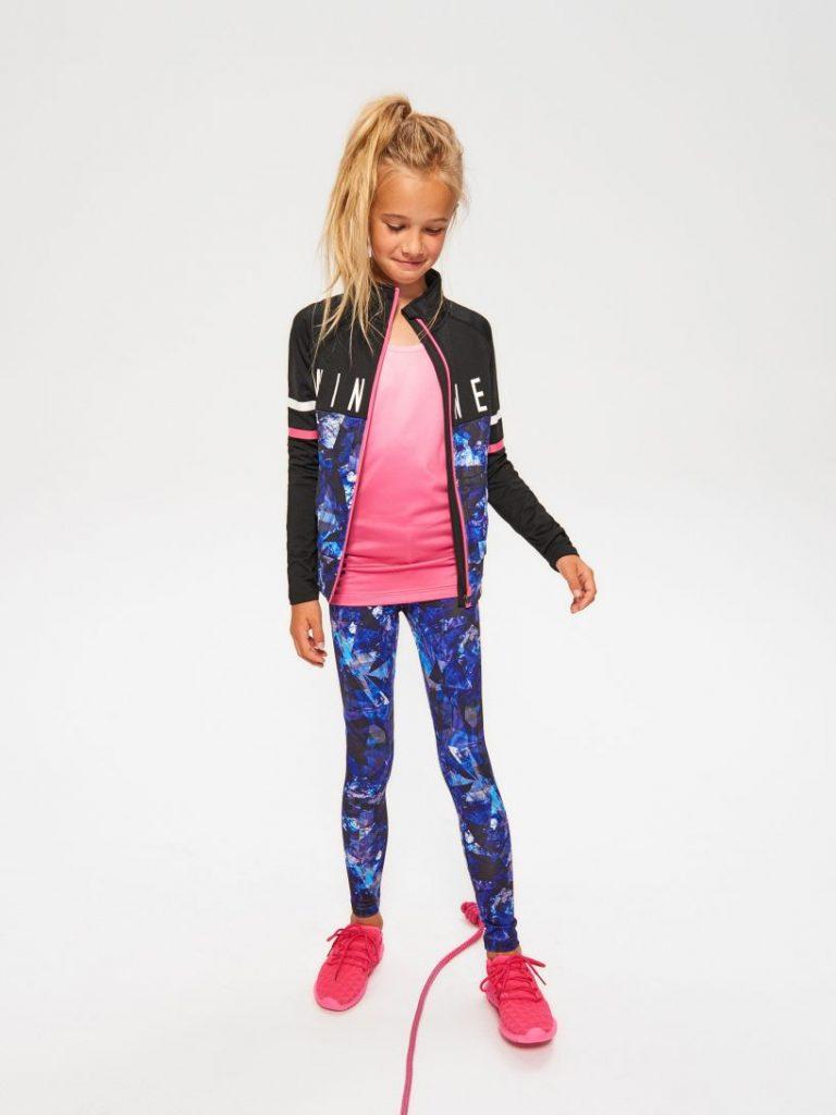 ubrania na zajęcia sportowe reserved kids rekids active
