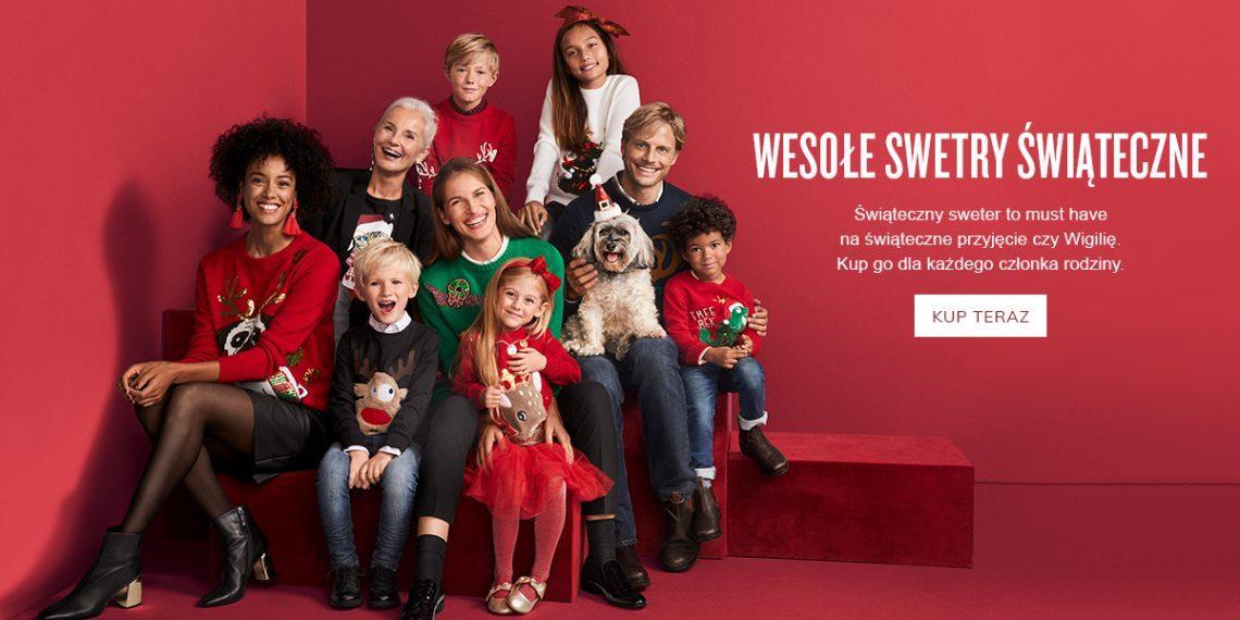 sweter na święta świąteczny sweter stylizacja na święta