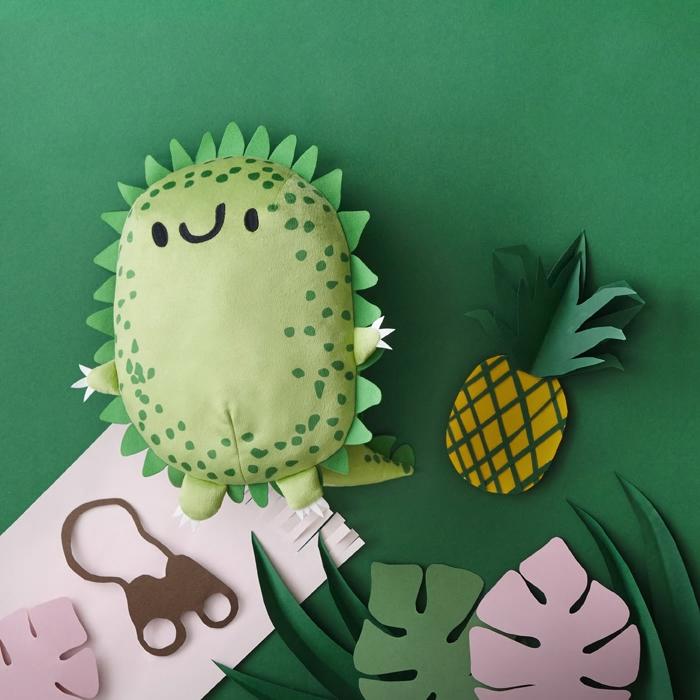 ikea sagoskatt pluszak zabawka jeżodinozaur
