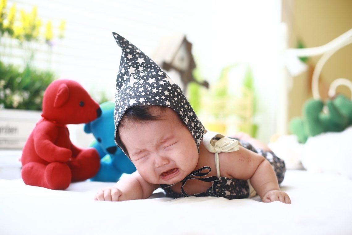 dziecko płacz high need baby