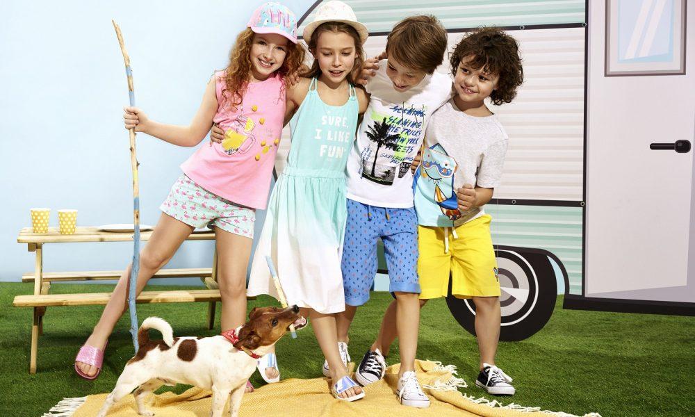 51015 lato ubrania dzieci