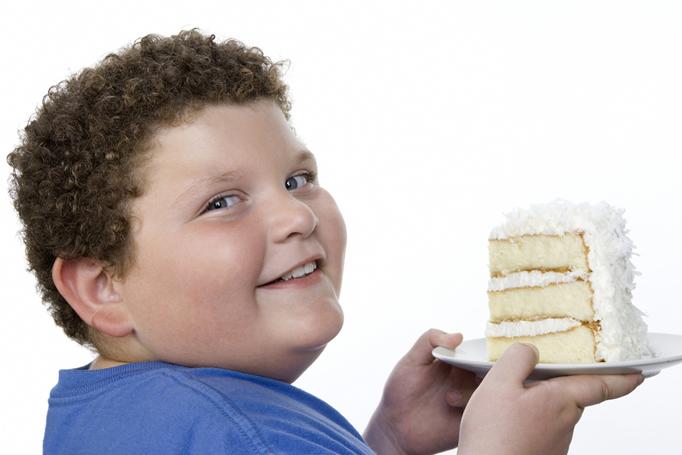 dziecko tort jak poóc dziecku schudnąć
