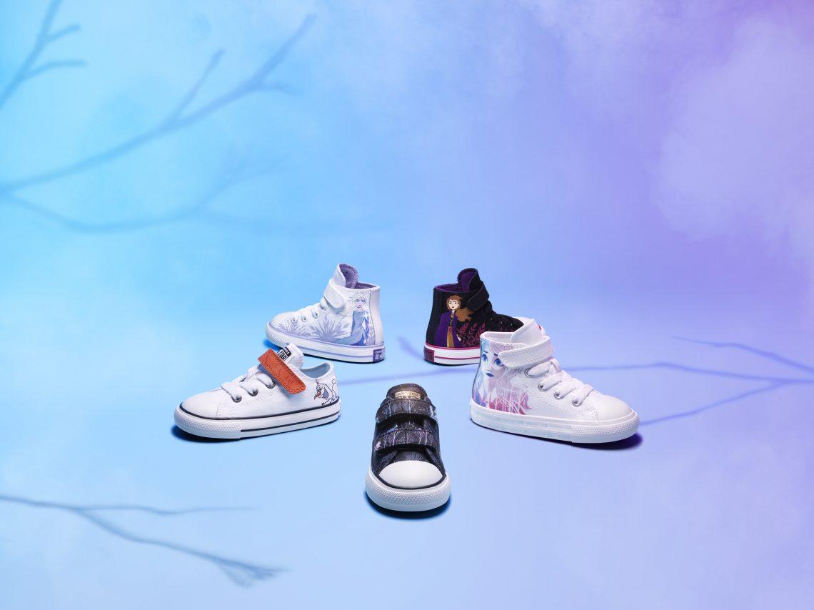 Prosto z Krainy Lodu – nowa dziecięca kolekcja od Converse!
